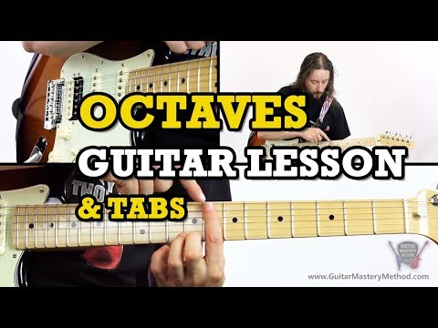Octave Guitar Lesson