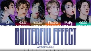 Download ASTRO (아스트로) – 'BUTTERFLY EFFECT' Lyrics [Color Coded_Han_Rom_Eng]