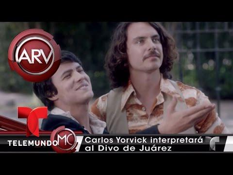 Carlos Yorvick da vida a Juan Gabriel joven | Al Rojo Vivo | Telemundo