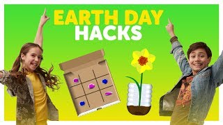 Earth Day Hacks with Liv & Shane from The KIDZ BOP Kids