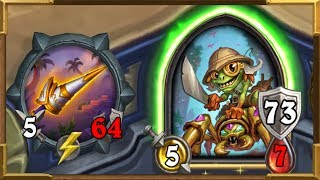 Hearthstone:[HEROIC] This Weapon Is Unlimited   The Most Broken Treasure So Far   Tombs of Terror