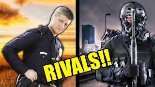 COUNTY COPS VS CITY COPS!!
