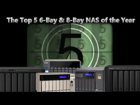 The Top 5 6-Bay and 8-Bay NAS of 2017