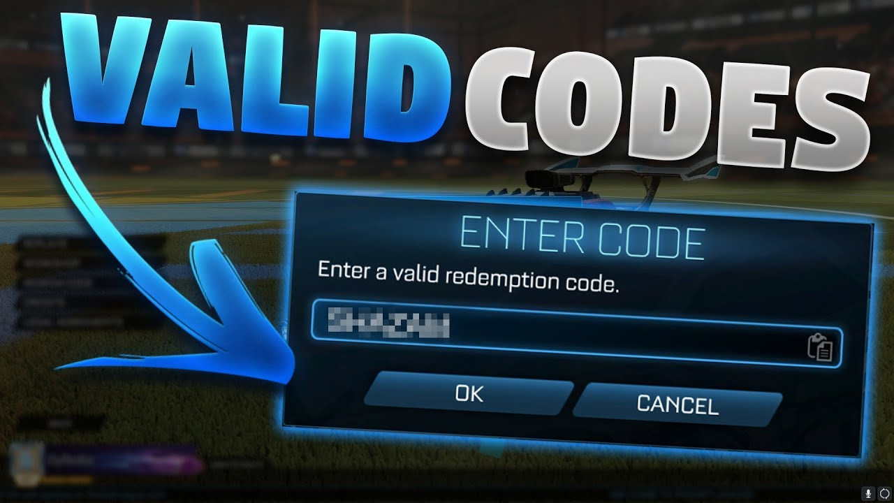 All Valid Redeem Codes For Rocket League 2019