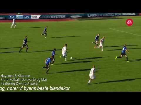Hayseed & Klubben med Alsaker:  FLORØ  FOTBALL (De Svarte Og Blå)