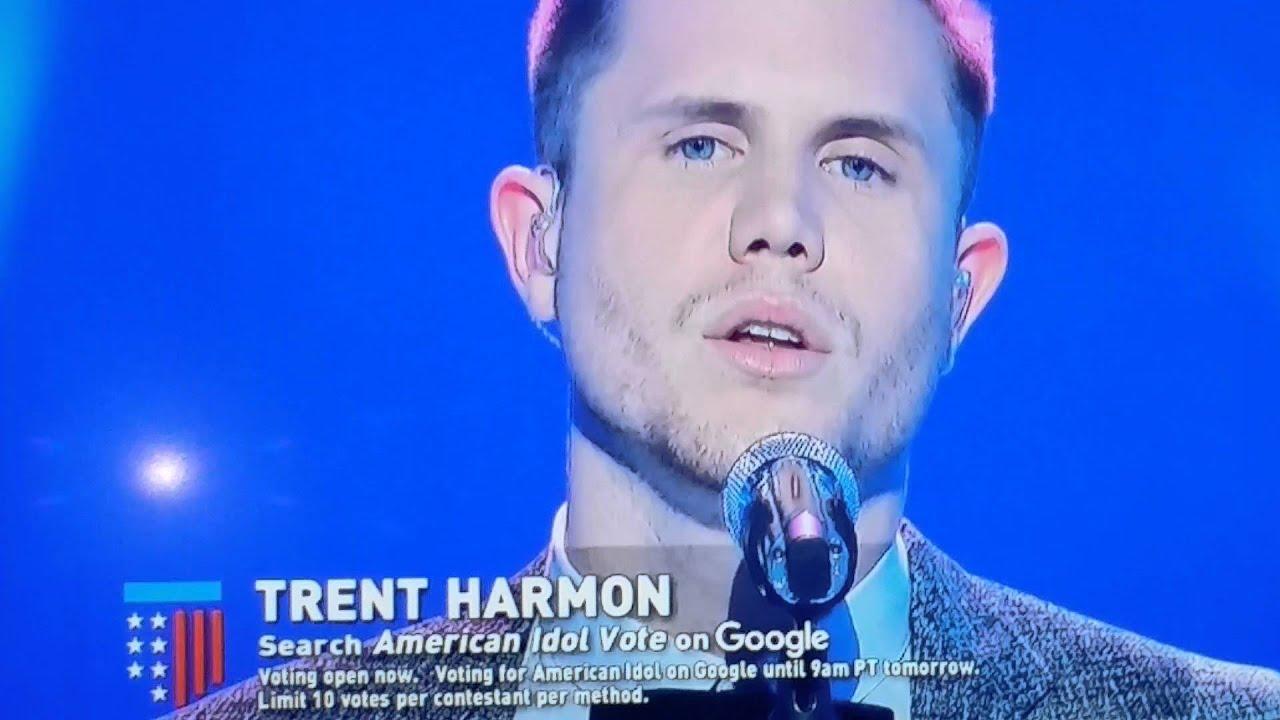 American idols Trent Harmon singing waiting game - YouTube