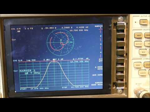 Rigol DSA815 tracking generator frequency offset