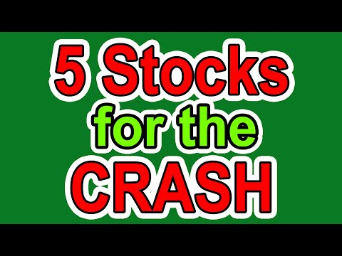 5 Stocks for this Stock Market Crash - My Bucket List of Stocks to Buy Cheap