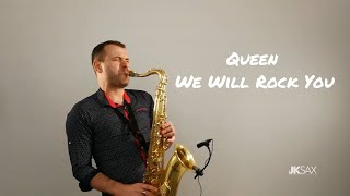 Baixar We Will Rock You - Queen (Saxophone Cover by JK Sax)