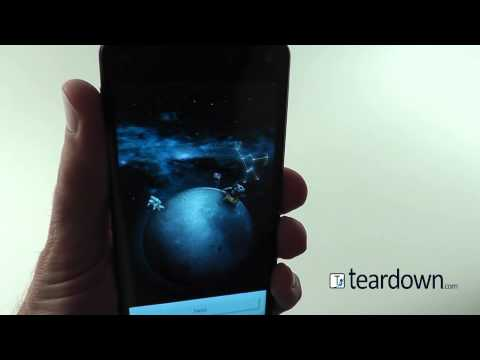 Amazon Fire Phone Dynamic Perspective Display Demonstration