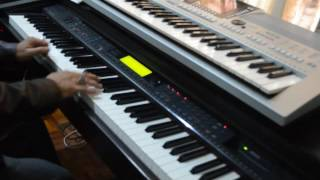 Ku Rela Dibenci Aiman Tino piano cover solo Yuzart