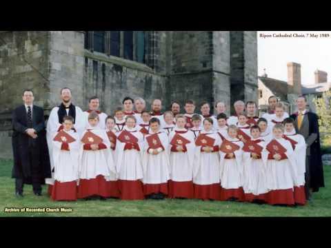 BBC Choral Evensong: Ripon Cathedral 1987 (Ronald Perrin)