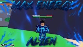 Project:OPM | HOW STRONG IS MAX ENERGY ALIEN? | Roblox Project:OPM