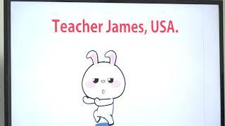 Learn English  เรียนภาษาอังกฤษ : suraphet 5316: Teacher James, USA. James 19 September 2018
