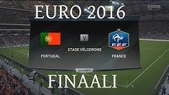 Selostetaan EM-finaali 2016: Portugali - Ranska