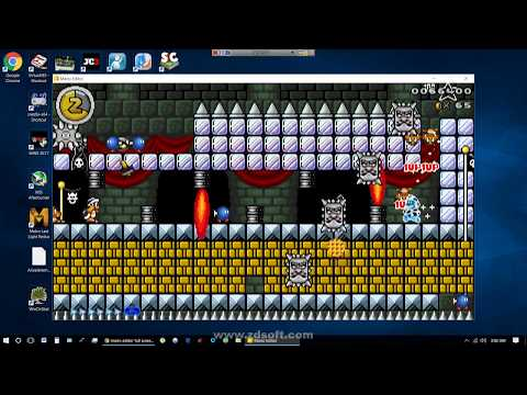 "Mario Editor Showcase - ""P to Win v1.0 beta"" level"