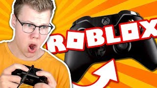 PLAYING ROBLOX AVEC UN CONTROLLER XBOX!!