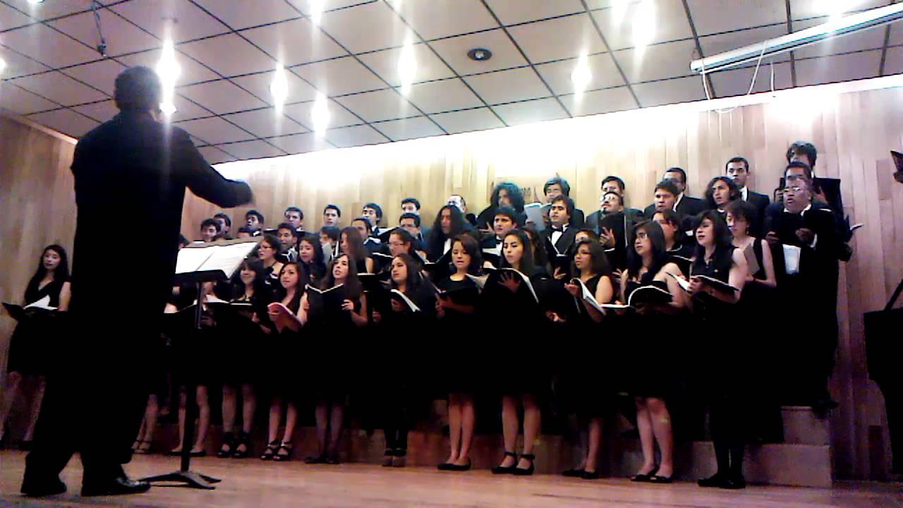 Concierto coro del conservatorio de musica del estado de for Conservatorio de musica