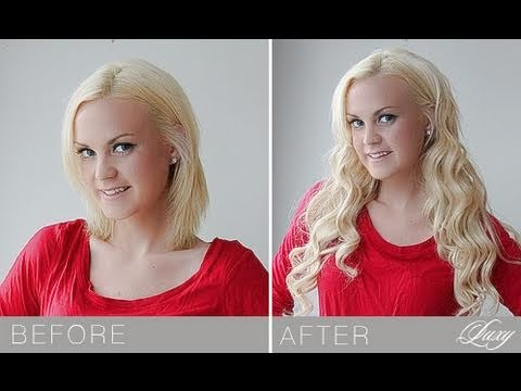 How to blend luxy hair extensions with short hair youtube pmusecretfo Choice Image