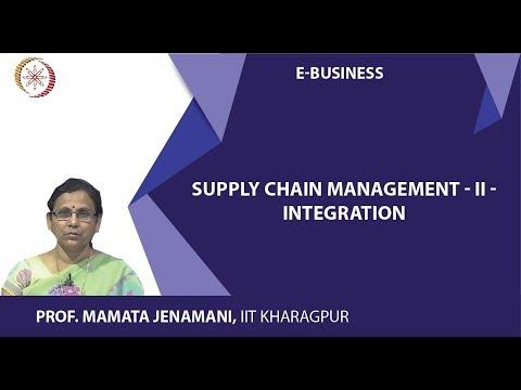 Supply Chain Management  II -integration