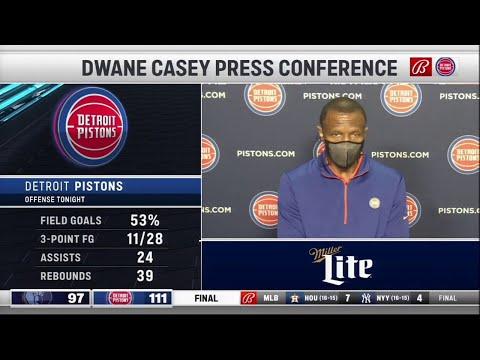 Pistons LIVE Postgame 5.6.21 | Dwane Casey