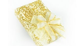 Wedding Gift Wrapping (Japanese Pleats Design)