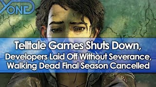 Telltale Games Shuts Down, Developers Laid Off Without Severance, Walking Dead Cancelled
