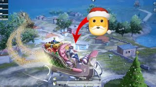 I AM FLYING THE SANTA CLAUSE SLED | PUBG MOBILE