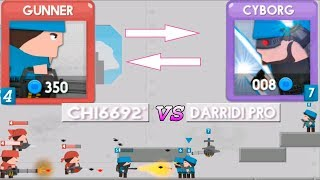 Clone Armies! DarRidi vs Chi6692 - Армия клонов! читер в клонах \ война клонов - 2d games