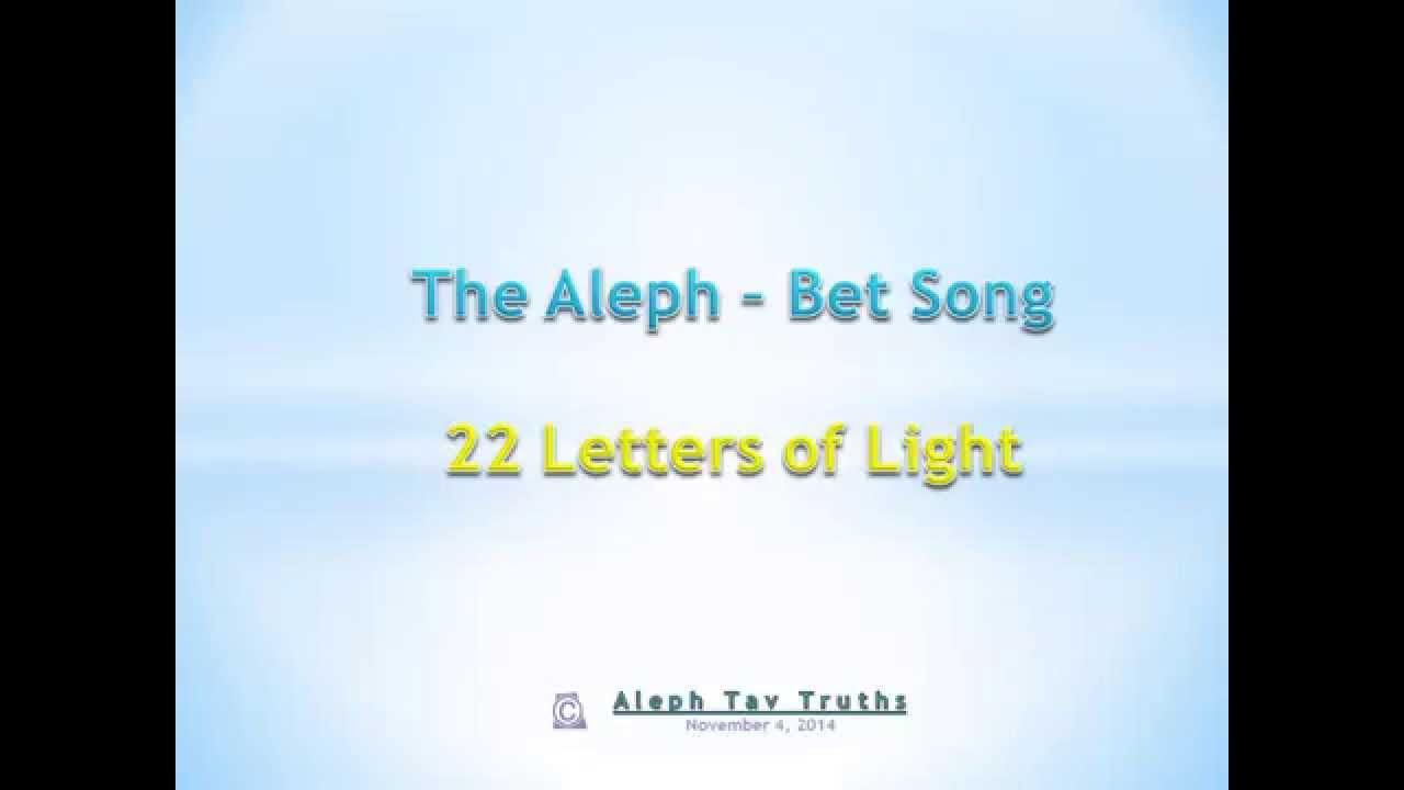 AlefBet Song - Teach Me Hebrew
