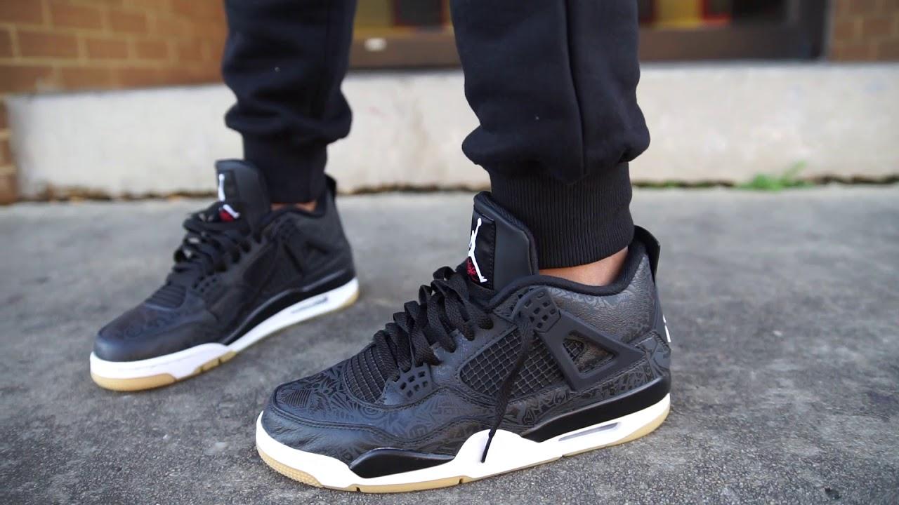 "timeless design 59e62 951b7 Air Jordan 4 ""Black Laser"" (Dope or Nope) + On Foot"
