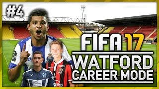 WATFORD CAREER MODE - EPISODE #4 (FIFA 17)