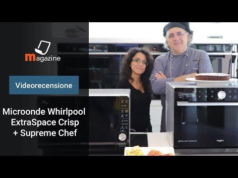 Microonde Whirlpool con funzione Crisp: la videorecensione