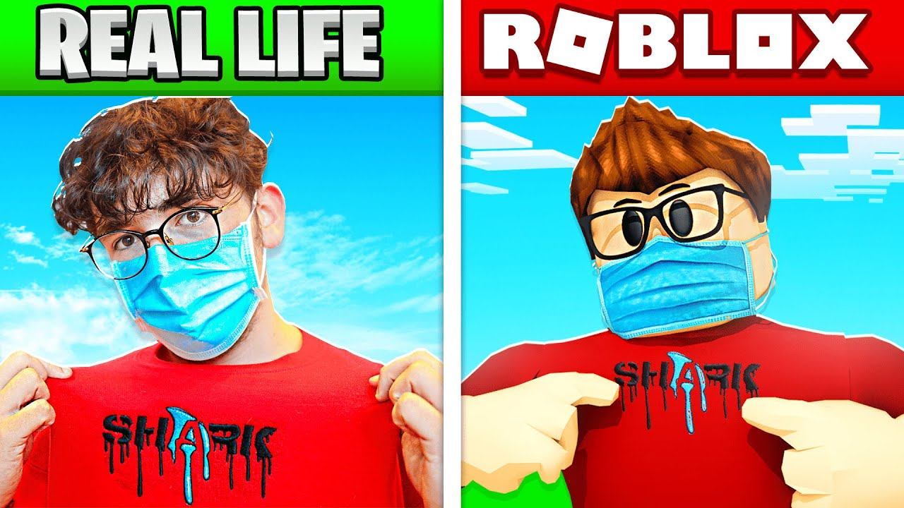 Roblox But In REAL LIFE! (Players, Games, Items)