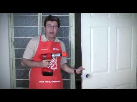 C mo cambiar una puerta youtube - Como lijar una puerta ...