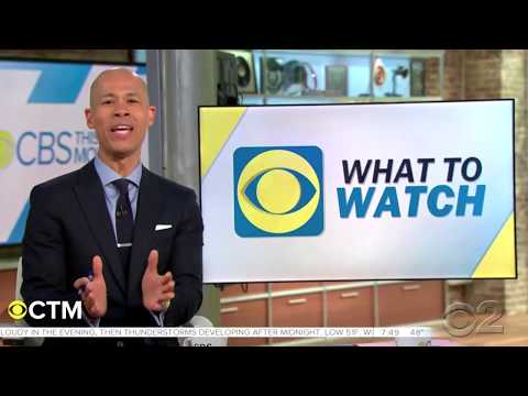 """CBS This Morning"" ""What to Watch"" Segment"