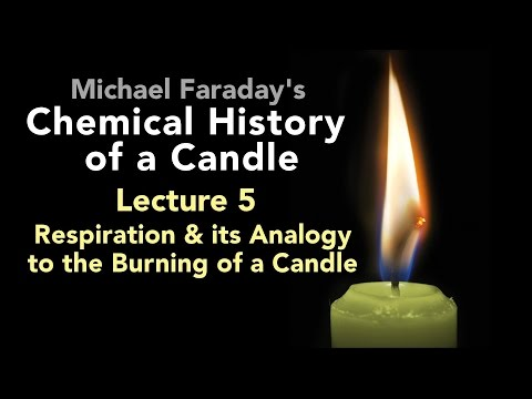 Lecture Five: The Chemical History of a Candle - Respiration & the Burning of a Candle (6/6)