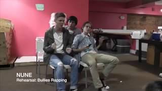 BTS NUNE movie rehearsal: Bullies Rapping