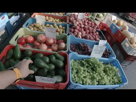Limassol Saturday street market   BMW R NineT   Cyprus vlog