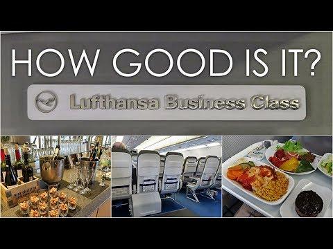 LUFTHANSA BUSINESS CLASS | ATHENS-MUNICH | A321