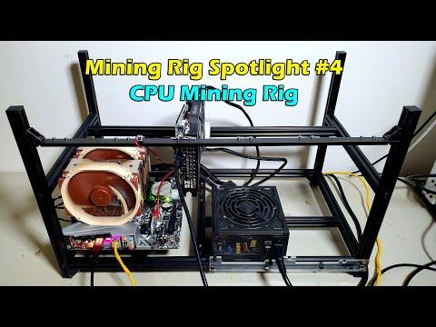 Ryzen 3900X CPU Mining Rig Spotlight | Mining Rig Spotlight #4