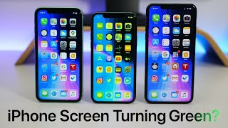 iOS 13.5.1 Turning iPhone 11, 11 Pro and 11 Pro Max Display Green?
