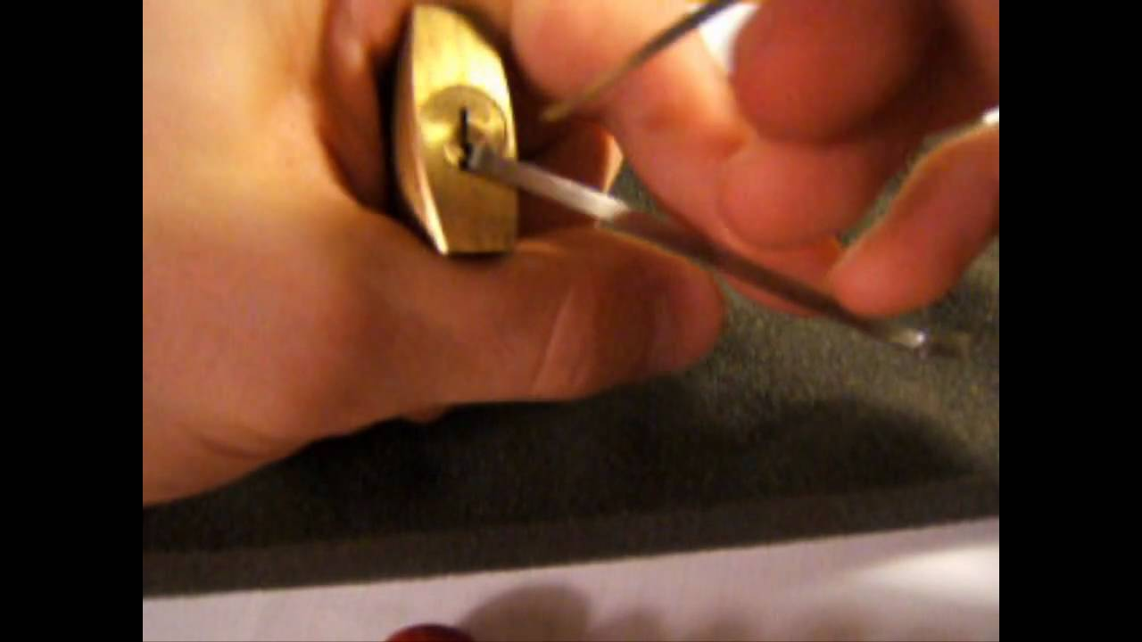 lock picking how to detect security pins