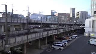 2018年の年の瀬になっても放置されてままの東海道貨物線大汐線の田町車両センター付近