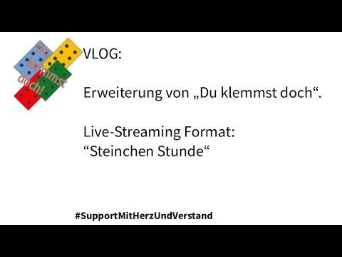 """VLOG (Sepia Video): Erweiterung von """"Du klemmst doch"""".Live-Streaming Format:""""Steinchen Stunde"""""""