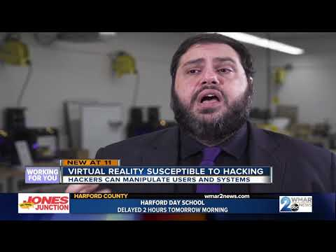 Virtual Reality becoming new target for potential hackers