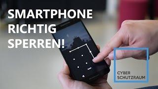 Smartphone richtig sperren! - How-to