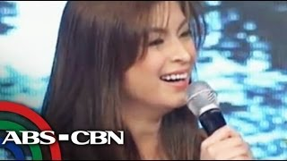 Angel teased about Luis on 'It's Showtime