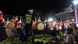 2017年7月30日 松本城太鼓祭り どん合同曲.