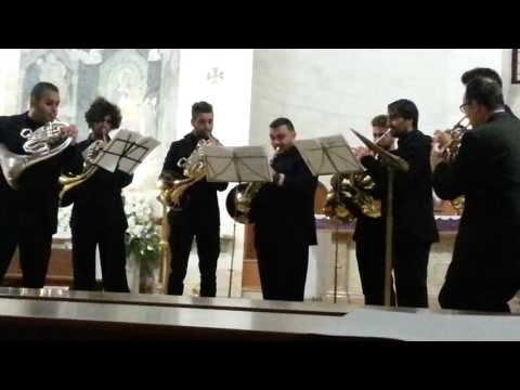 2^ Concerto Corni Conservatorio Monopoli Natale 2015 Basilica Cattedrale Conversano